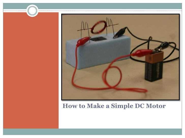 How to Make a Simple DC Motor<br />