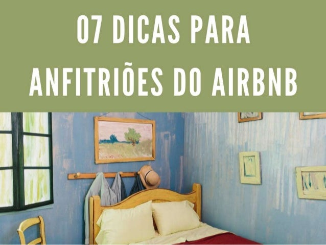 07 dicas para anfitriões do airbnb