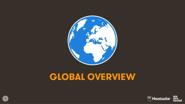 6 GLOBAL OVERVIEW