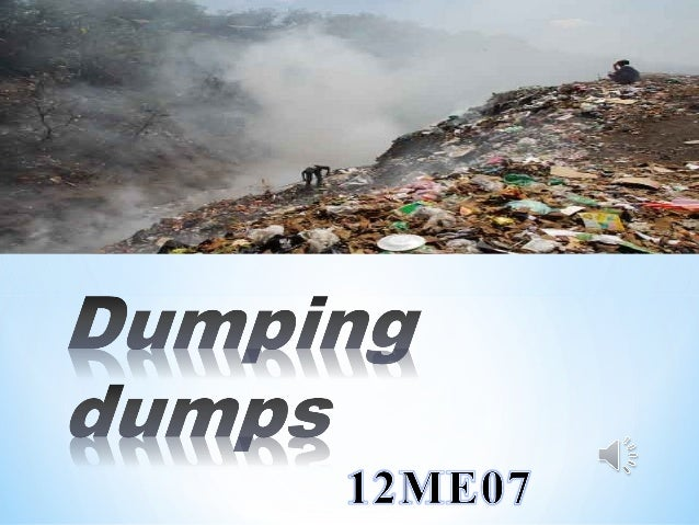 * The garbage is dumped in an improper manner which causes serious environmental degradation  * The problem of garbage is ...