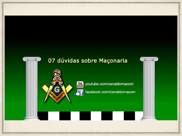 Maçonaria & Sabedoria O que é a Maçonaria? A Maçonaria é uma instituição essencialmente filosófica, filantrópica, educativa e...