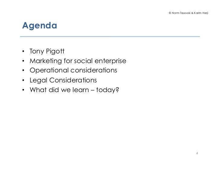 social enterprise business model pdf