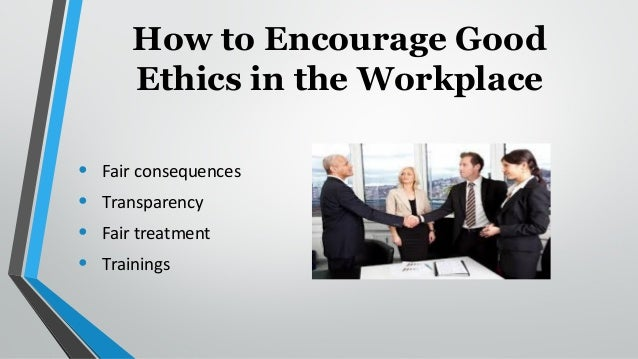 examples of good work ethics