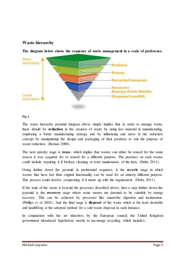 Environmental management course work Slide 3