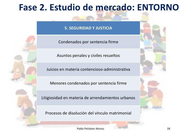 Fase 2. Estudio de mercado: ENTORNO                 5. SEGURIDAD Y JUSTICIA                Condenados por sentencia firme ...