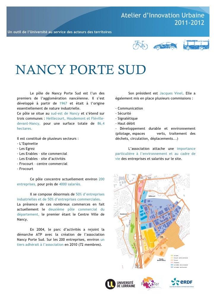 Atelier d'Innovation Urbaine                                                                                        2011-2...