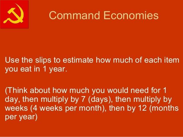 Free Market Vs Command Economy