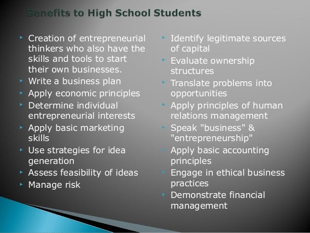 the extent to which entrepreneurship education is important The economy has changed, and with these changes our communities must adapt themselves to some new realities traditionally, economic development, rooted in the post-world war ii era, attempted to build our export base by subsidizing firms to locate manufacturing employment in our communities.