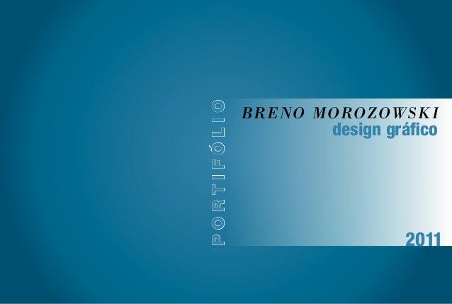 Breno Morozowski portifólio design gráfico 2011