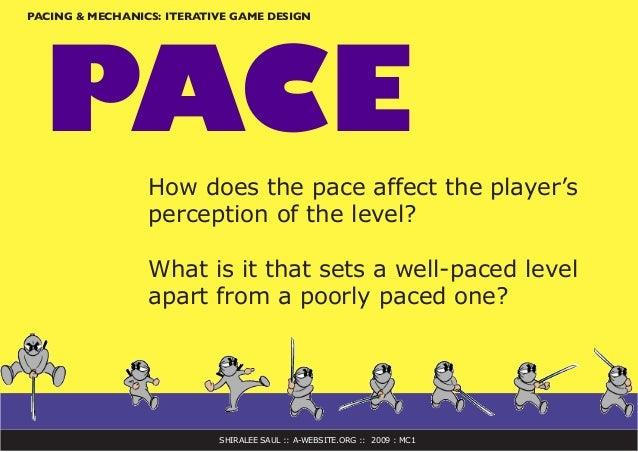 pacing in games
