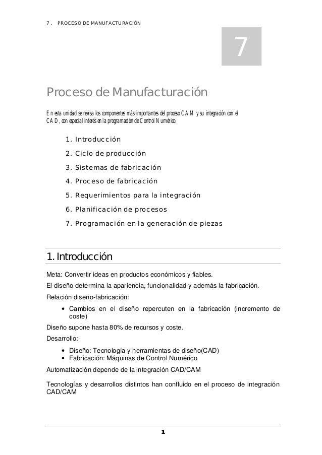 7.   PROCESO DE MANUFACTURACIÓN                                                                                           ...