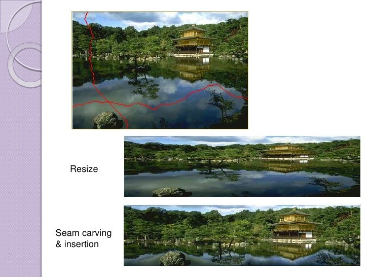 study Seam Carving For Content Aware Image Resizing