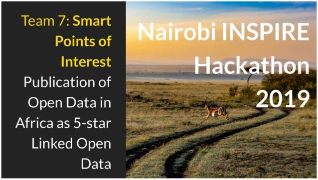 TEAM 7: Smart Points of Interest - Publication of Open Data in Africa as 5-star Linked Open Data