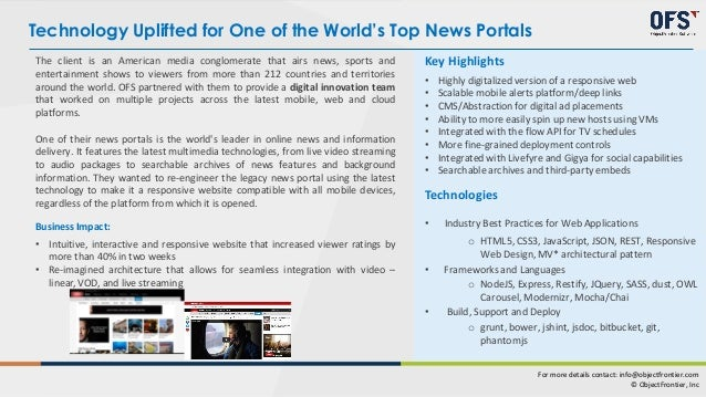 Site Facelift Brings Higher Viewer Ratings for World News Leader