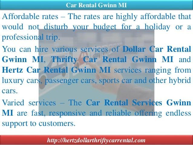 08 08 2015 Car Rental Gwinn Mi