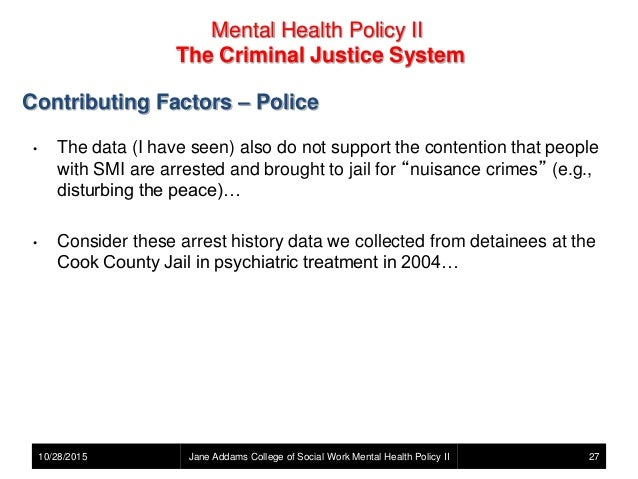 the factors contributing to the failure of the criminal justice system Family, school, community, and economic factors associated with juvenile crime in north carolina: a system impact assessment.