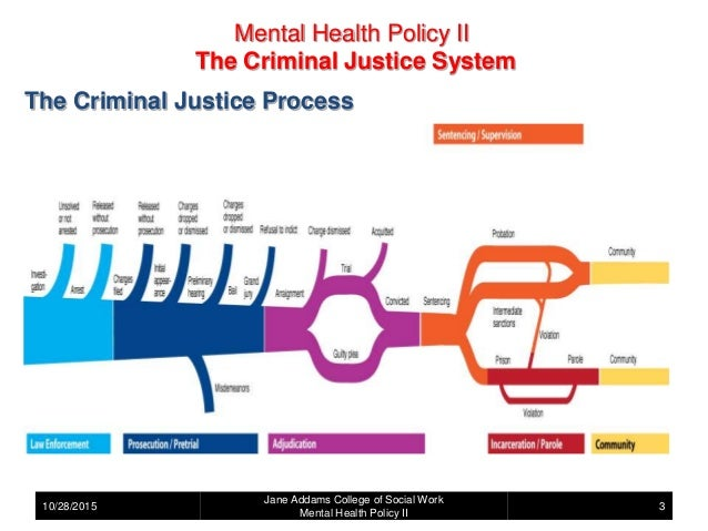 mental health services within the criminal This program employs mental health specialist teams in the court to provide assessments, liaison with community services and develop individualised plans to support people with a psychiatric disability in the criminal justice system.