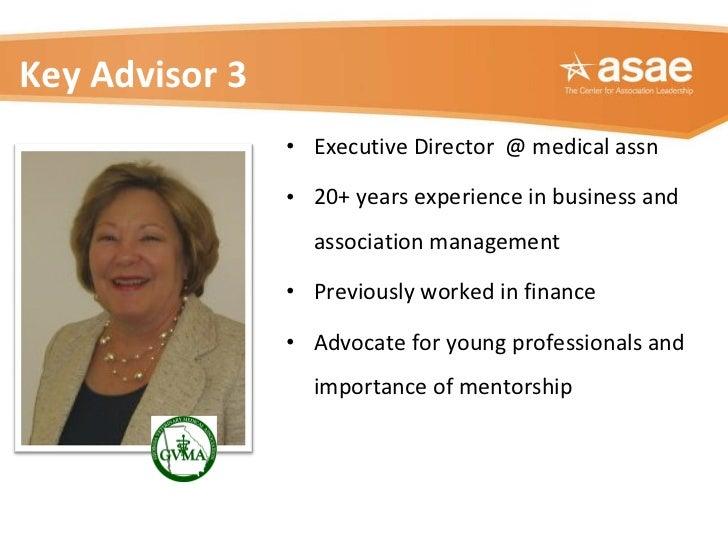 <ul><li>Executive Director  @ medical assn </li></ul><ul><li>20+ years experience in business and association management <...