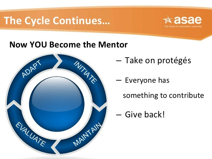 <ul><ul><li>Take on protégés  </li></ul></ul><ul><ul><li>Everyone has something to contribute </li></ul></ul><ul><ul><li>G...