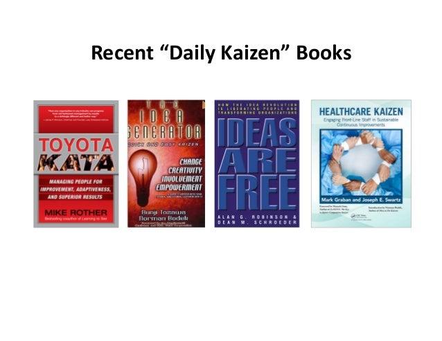 "Recent""DailyKaizen""Books"
