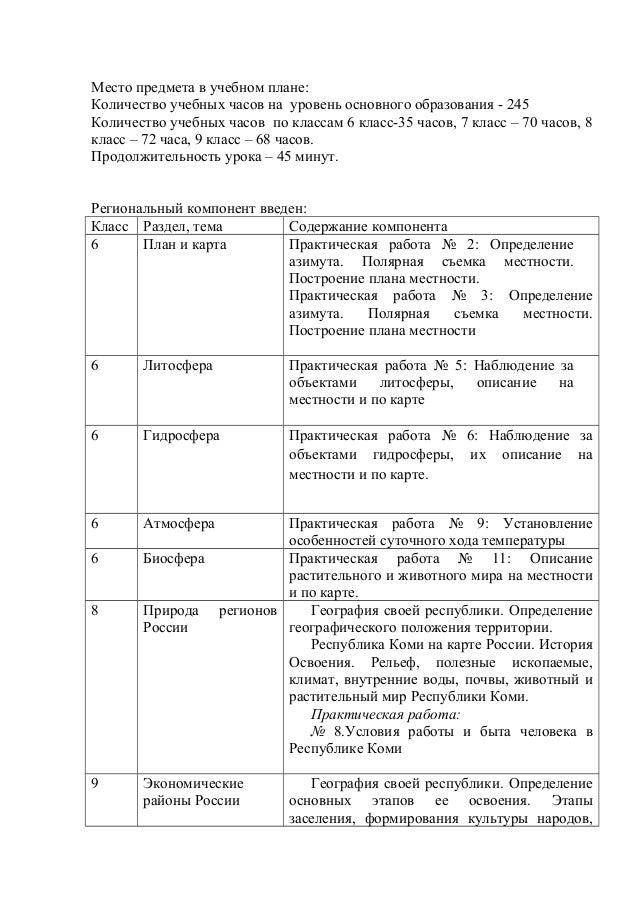 гдз по географии 8 класс практическаяработа характеристика рк россии