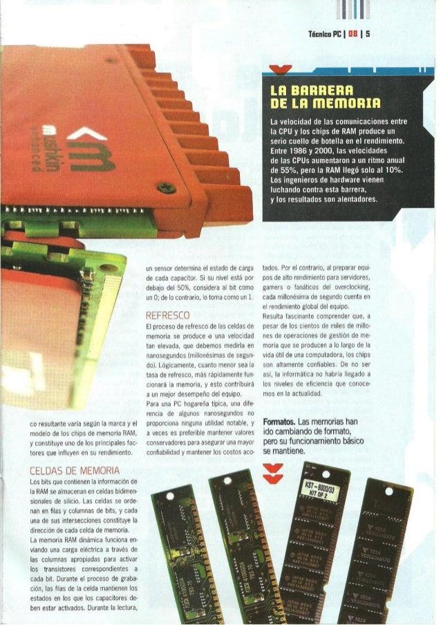 Illnntnnsun  co resultante varia según la marca y el modelo de los chips de memoria RAM,  y constituye uno de los principa...