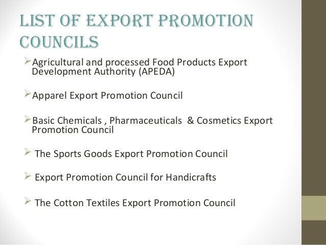 nishit ambule export promotion councils presentation