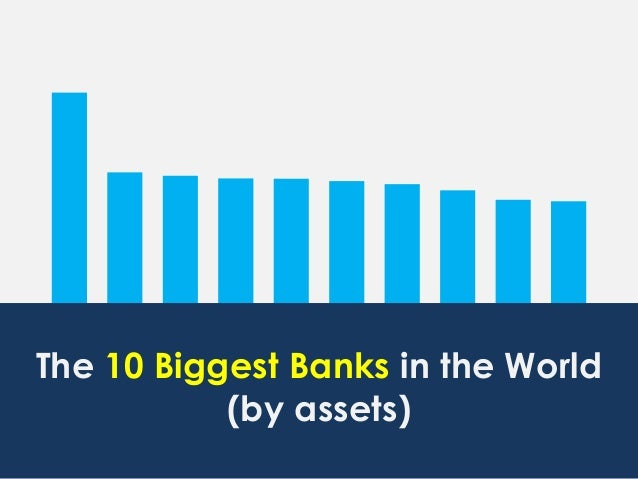 ICBC CIC HSBC ABC JPM BNP BOC MTU ACA BCS The 10 Biggest Banks in the World (by assets)