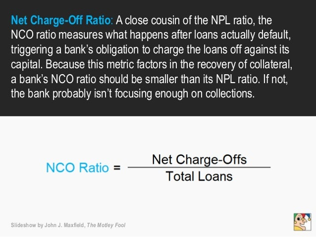 Net Charge-Off Ratio: A close