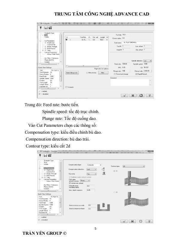 Gia công 2d nâng cao mastercam X7 ( demo)
