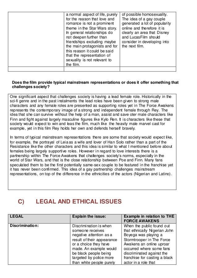 legal & ethical regulatory bodies report