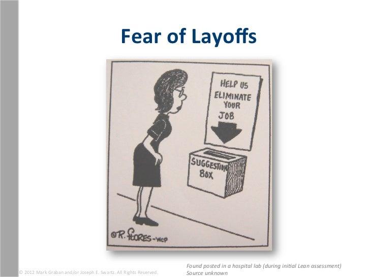 Fear of Layoffs                                                                                                      ...