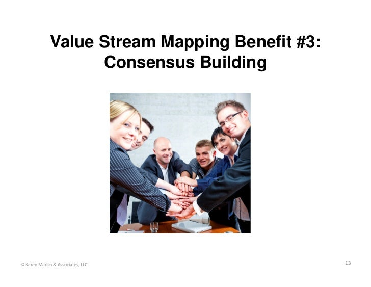 Value Stream Mapping Benefit #3:                    Consensus Building© Karen Martin & Associates, LLC                 13