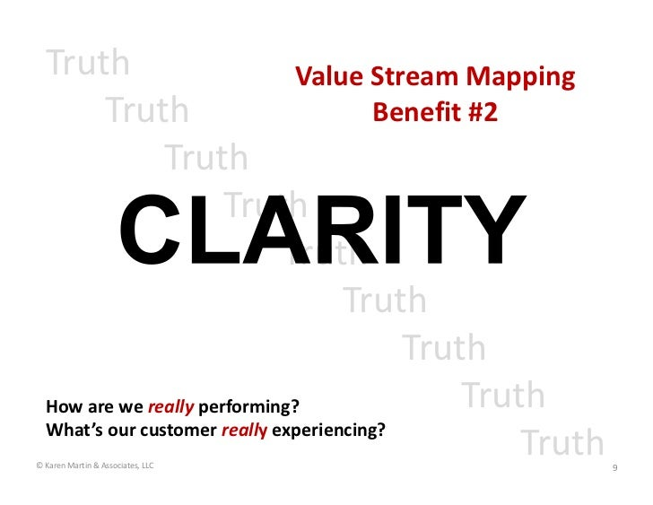 Truth                        Value Stream Mapping         Truth                            Benefit #2                Truth...