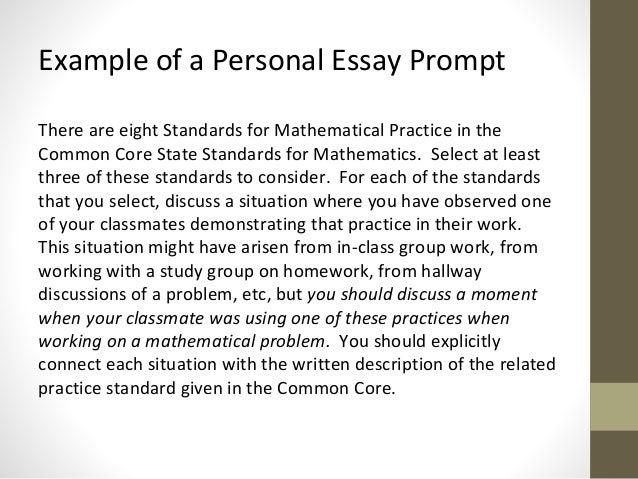 math teaching essays