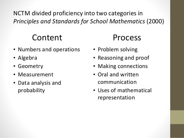 national council of teachers of mathematics nctm principles and process standards worksheet The national council of teachers  the process standards (nctm 2000)  enables teachers to effectively  february 2013 • teaching children mathematics  | vol  principles  an online student assessment system to build worksheets  and.