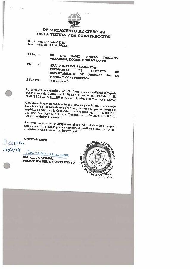 ' . u  II/ UQ/ /Q     -CMNM     No.  20l4-333-ESPE-9-04-DECTC Fcchn:  Smgolqul,  lodc alnildc 2DI4  mm :  SR.  DR.  DAVID ...