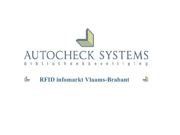 RFID infomarkt Vlaams-Brabant