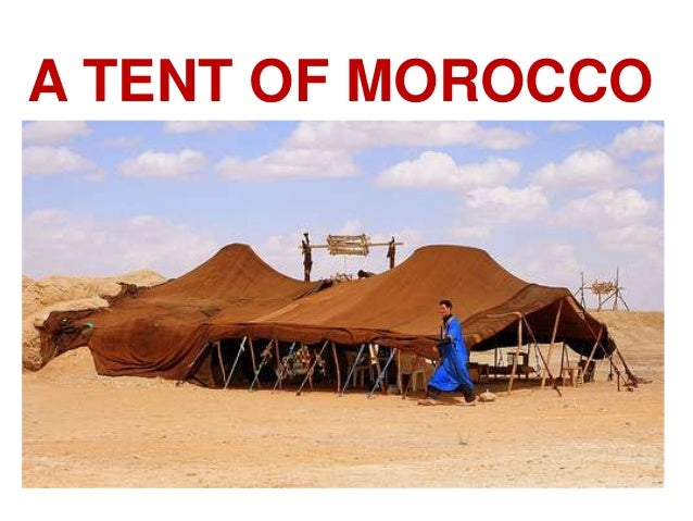 A TENT OF MOROCCO