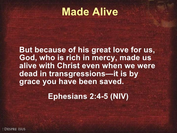 made alive in christ speech col3 Living as those made alive in christ 3 since, then, you have been raised with christ, set your hearts on things above, where christ is, seated at the right hand of god 2 set your minds on things above, not on earthly things 3 for you died, and your life is now hidden with christ in god 4 when christ, who is your[a] life, appears, then you also will.