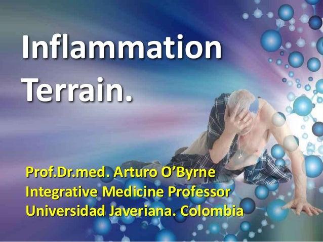Inflammation Terrain. Prof.Dr.med. Arturo O'Byrne Integrative Medicine Professor Universidad Javeriana. Colombia