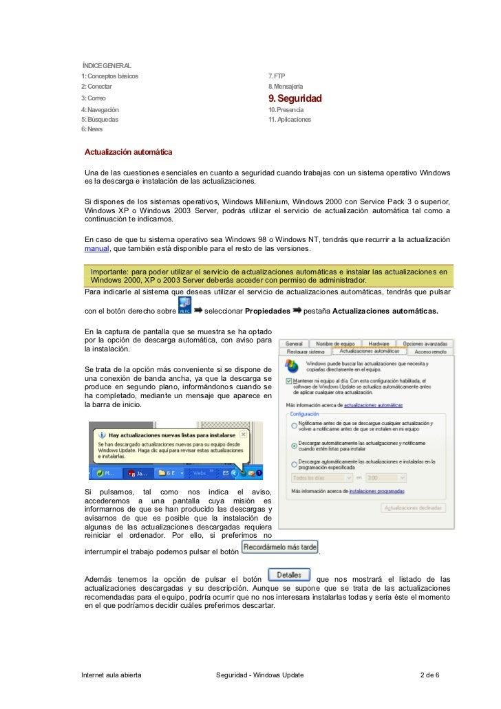 ÍNDICE GENERAL 1: Conceptos básicos                                    7. FTP 2: Conectar                                 ...