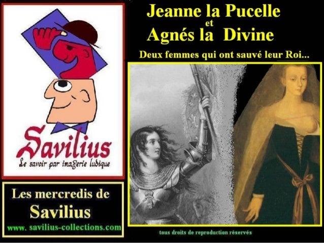 08 Jeanne d'Arc et Agnès Sorel