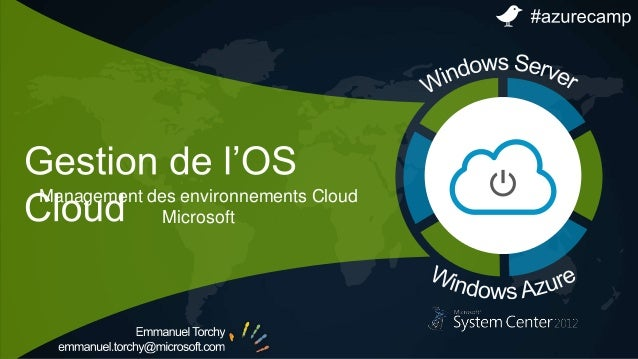 Management des environnements Cloud Microsoft