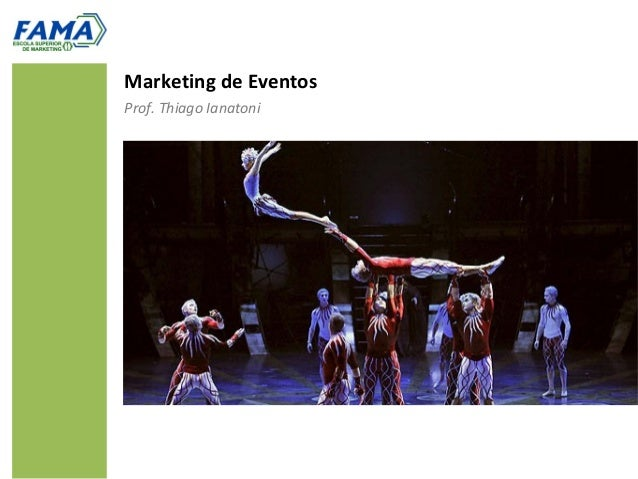 Marketing de EventosProf. Thiago Ianatoni