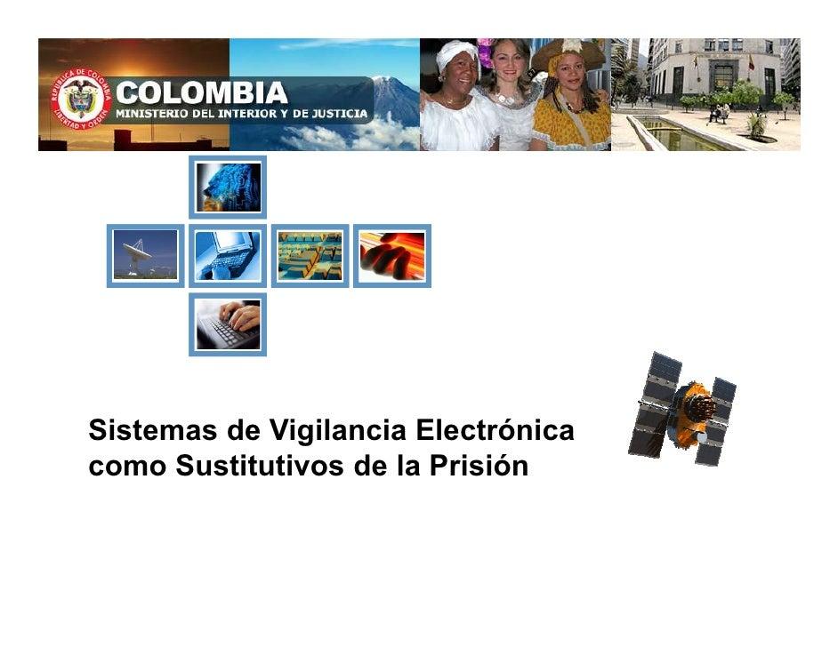 Sistemas de Vigilancia Electrónica como Sustitutivos de la Prisión