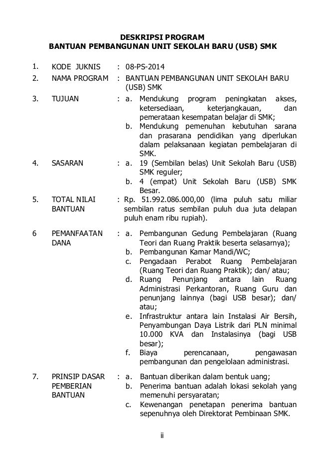08 ps-2014 bantuan unit sekolah baru smk Slide 3