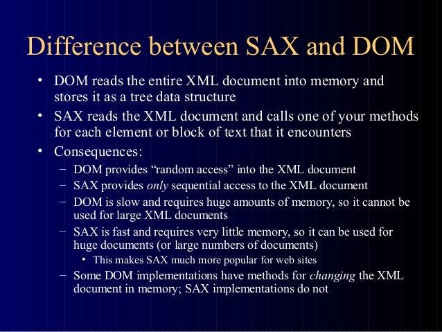 Validating xml with sax parser