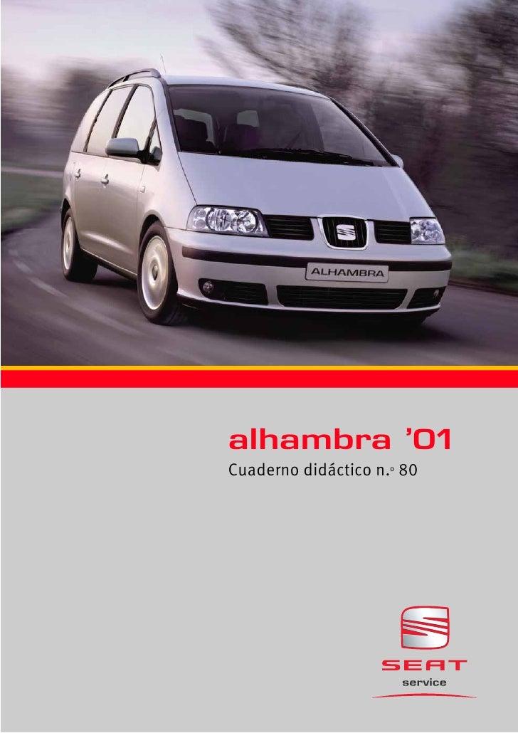 080 alhambra 2001 pdf rh es slideshare net manual taller seat alhambra pdf manual de taller seat alhambra gratis