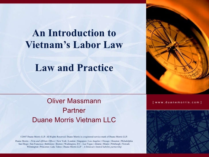 vietnamese labor law Viet nam labor code 2012 chapter i chapter xvi - labor inspection, handling of violations of labor law chapter xvii vietnamese law - legal documents.